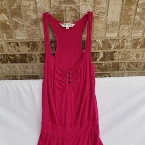 Trina Turk Fuschia Racerback Dress Size 2